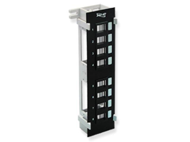 PatchPanel Blank 8Port Vertical Flush