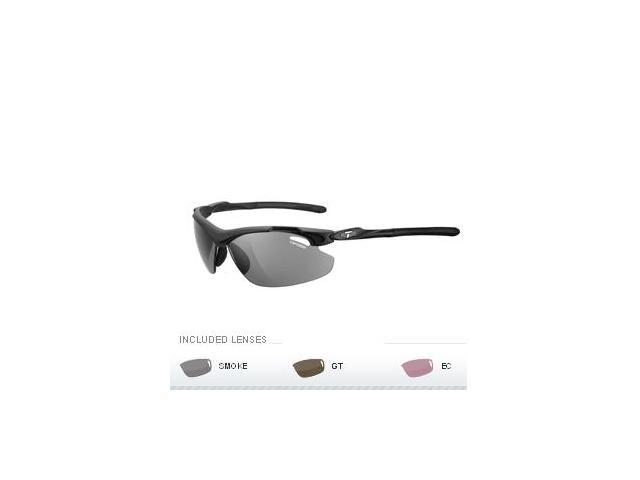 Tifosi Tyrant 2.0 Golf Interchangeable Sunglasses - Matte Black