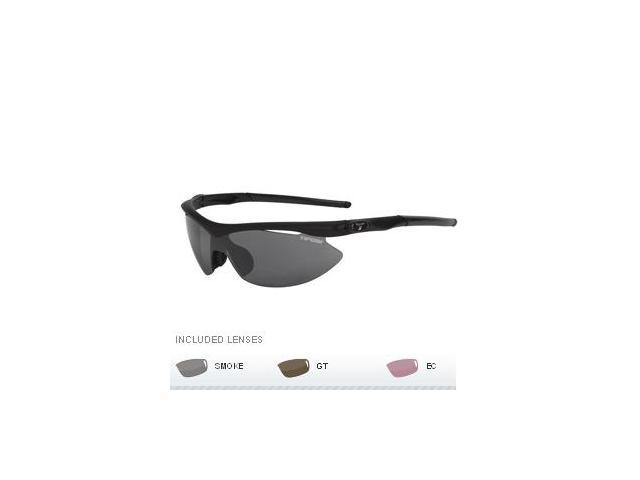 Tifosi Slip Golf Interchangeable Sunglasses - Matte Black