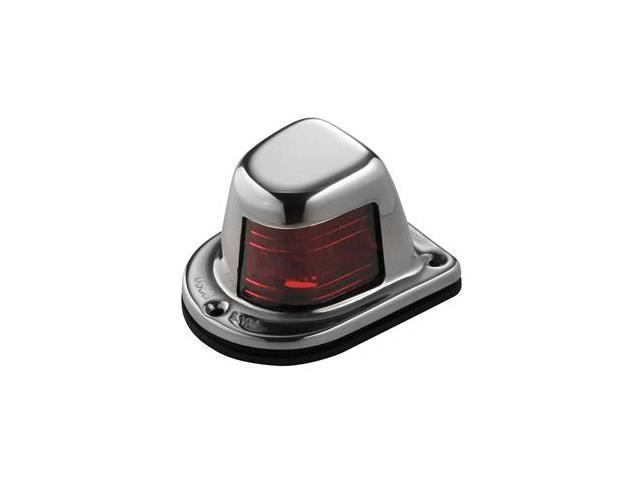 Attwood Sidelight Red 12V W/ Stainless Housing One Mile