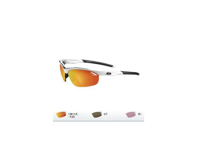 Tifosi Veloce Golf Interchangeable Sunglasses - White/Black
