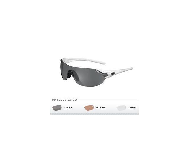 Tifosi Podium S Interchangeable Sunglasses - Pearl White