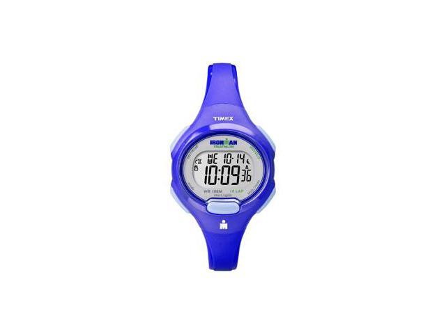 Timex Ironman Traditional 10-Lap Mid-Size Watch - Blue