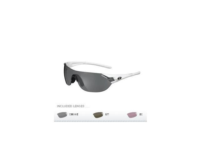 Tifosi Podium S Golf Interchangeable Sunglasses - Pearl White