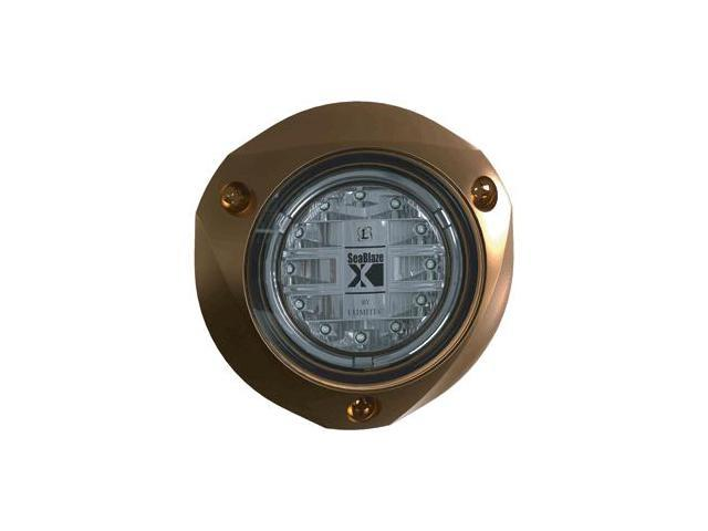 Lumitec SeaBlazeX Underwater Light-Bronze Finish-Blue Light