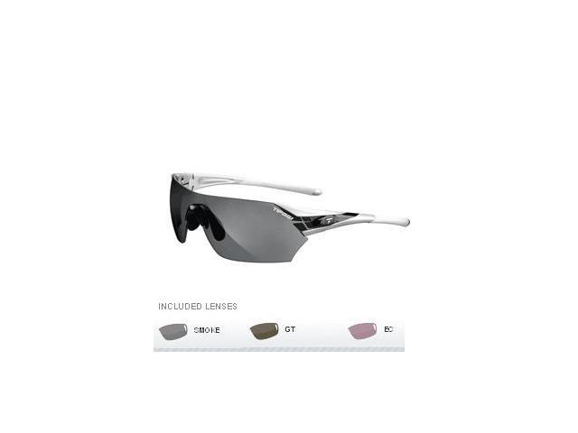 Tifosi Podium Golf Interchangeable Sunglasses - Metallic Silver