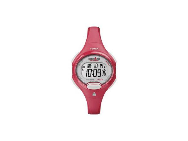 Timex Ironman Traditional 10-Lap Mid-Size Watch - Coral