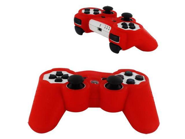 Silicone Soft Case for Sony PlayStation 3 Controller,Red