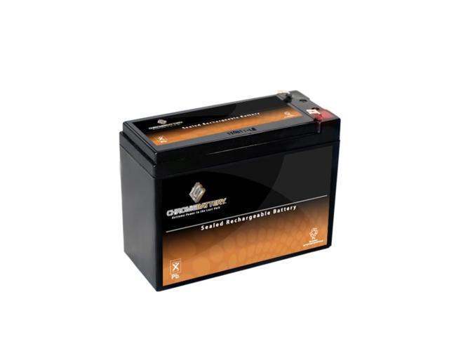 12V 10.3AH Sealed Lead Acid (SLA) Battery - T2 Terminals - for ZB-12-10.3