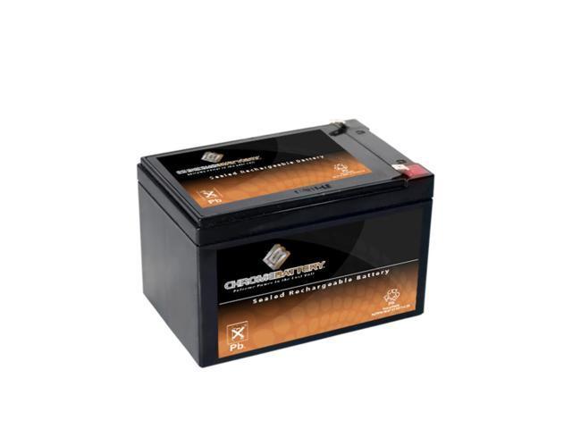 12V 14.5AH Sealed Lead Acid (SLA) Battery - T2 Terminals - for ZB-12-14.5