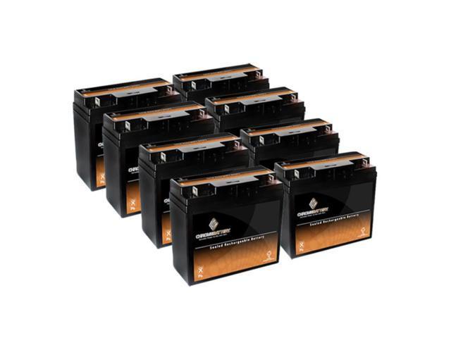 12V 18.5AH SLA Battery replaces 51913 es2500 12896 ub12180 gp12170 - 8PK