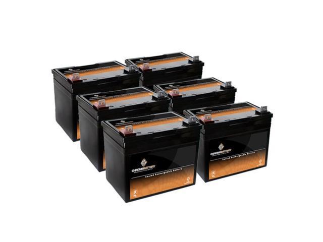 12V 35AH SLA Battery for Pride LX / Legend / Legend XL - 6PK