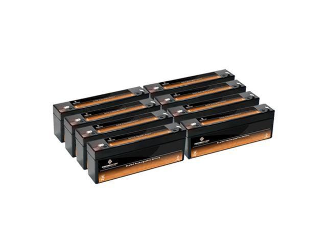 12V 2.3AH SLA Battery replaces dmu12-3 vec158 - 8PK