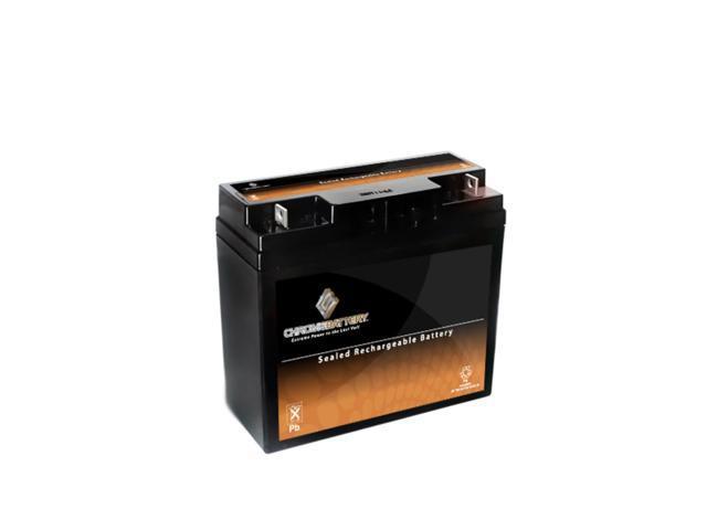 12V 21.6AH Sealed Lead Acid (SLA) Battery - T3 Terminals - for ZB-12-21.6