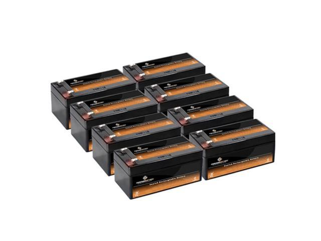 12V 3.5AH SLA Battery replaces BP3-12 BP3.6-12 CF12V2.6 CFM12V3 CP1232 - 8PK