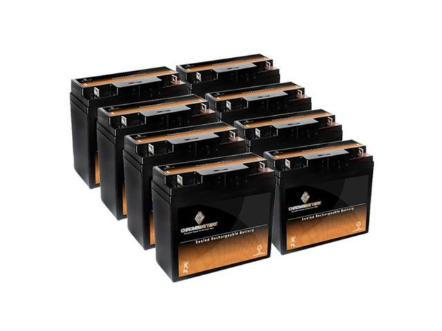 12V 19.5AH SLA Battery replaces ps-12180 bp17-12 lcrd1217p es17-12 d5745 - 8PK