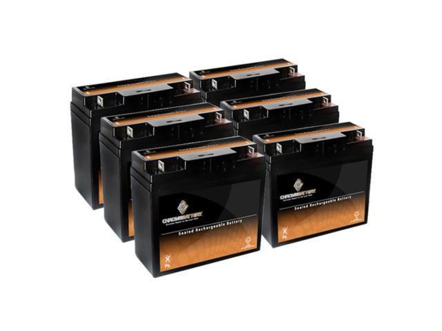 12V 19AH SLA Battery replaces lcx1220p np17-12 6dzm20 hr2212 np18-12b - 6PK