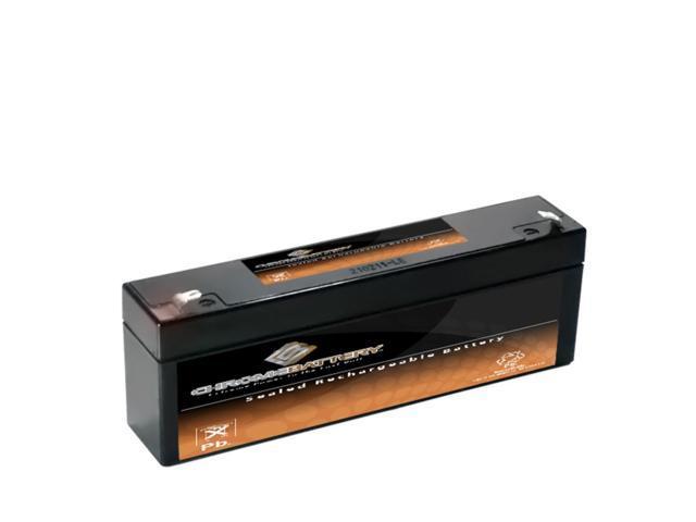 12V 2.2AH SLA Battery replaces pe12v2.2 lcr12v2.2p