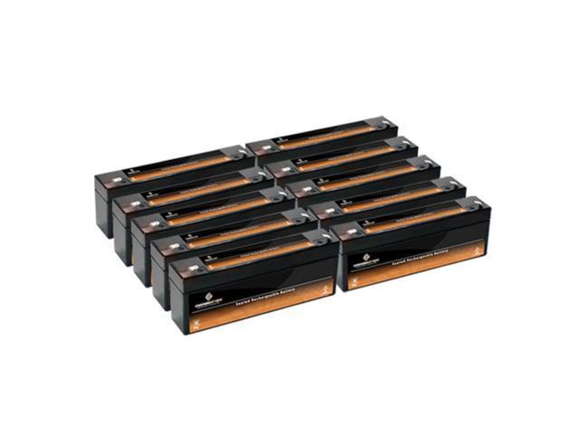 12V 2.3AH SLA Battery replaces hsk141hd 5140044-09 - 10PK