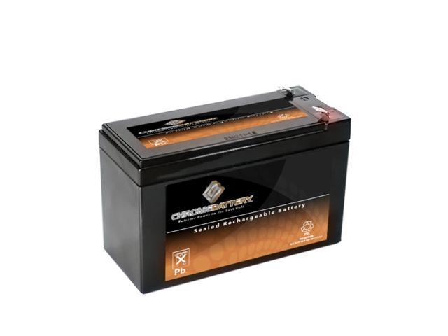 12V 7.6AH SLA Battery replaces pxl12072 lc-r127r2p1 wp7.2-12 sh1228w