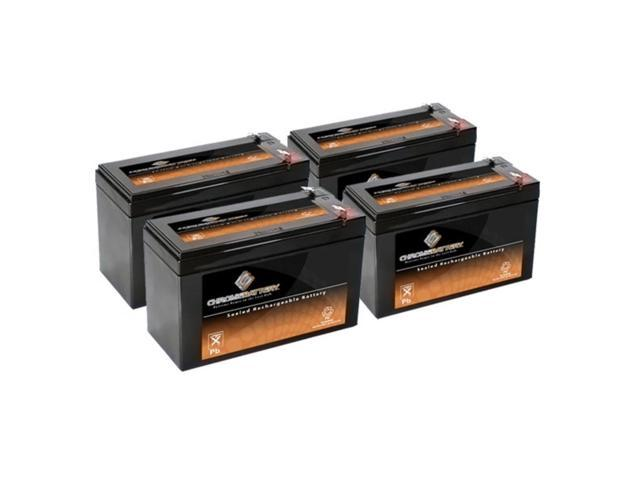 12V 8.5AH SLA Battery replaces hr1234w - 4PK