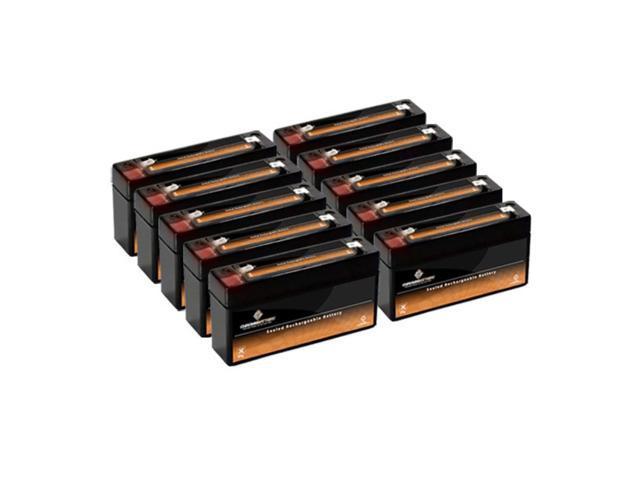 6V 3.4AH SLA Battery replaces ps-630 pc630 - 10PK