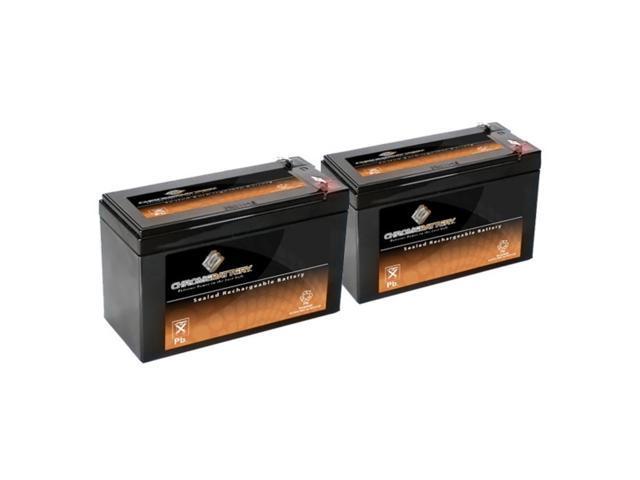 12V 7.4AH SLA Battery replaces lc-r127r2p ub1270 pc1270 ps1270f1 jc1260 - 2PK