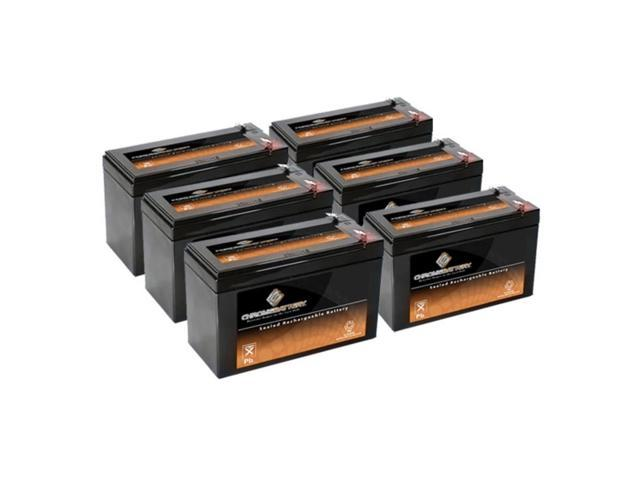 12V 8.5AH SLA Battery replaces cp1290 - 6PK