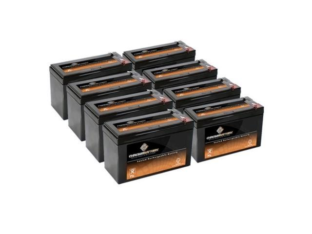 12V 7.4AH SLA Battery replaces lc-r127r2p ub1270 pc1270 ps1270f1 jc1260 - 8PK