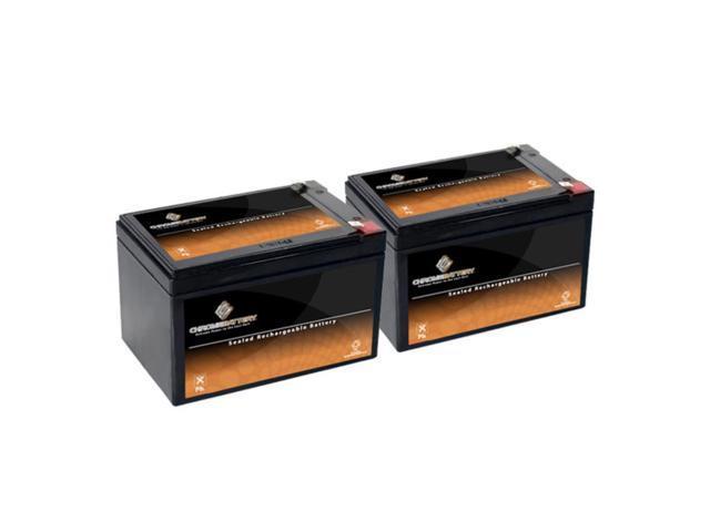 12V 12.5AH SLA Battery replaces cb 12-12 ps12100 12ce12 lc-ra1212p - 2PK