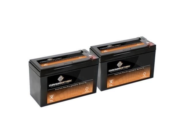 12V 8AH SLA Battery replaces UB1280 NP8.5-12 PS-1280 GP1280 12V BP8-12 - 2PK