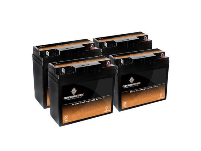12V 21AH SLA Battery for Pride Mobility Go-Go Elite - 4PK