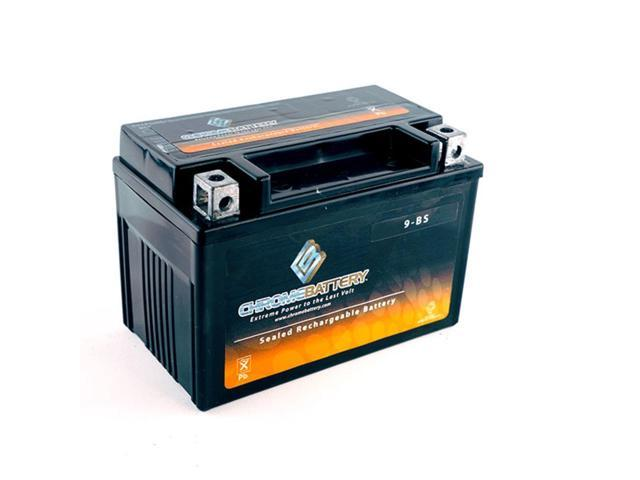 YTX9-BS Motorcycle Battery for SUZUKI DR650SE (CN) 650CC 96-'97