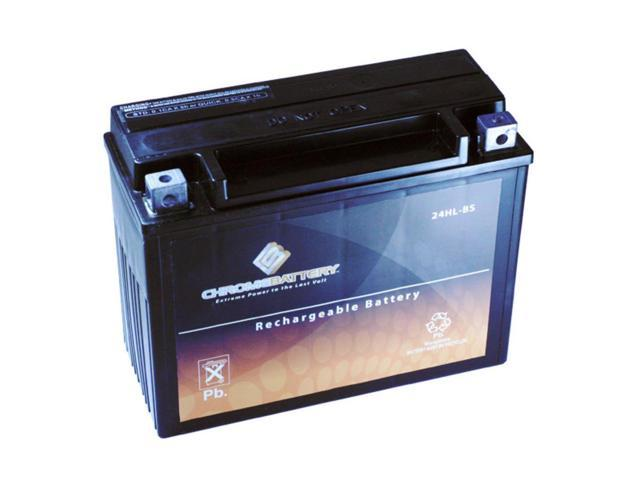 YTX24HL-BS Motorcycle Battery for INDIAN Chief 1638CC 02-'03
