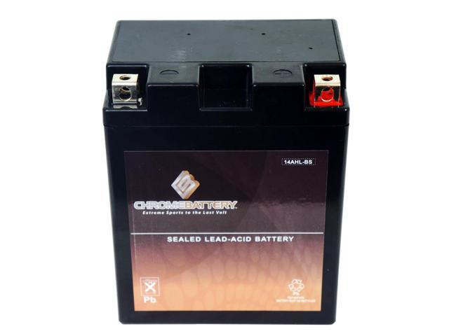 YTX14AHL-BS Motorcycle Battery for WHEEL HORSE TORO 108-3, 108-5, 111-5
