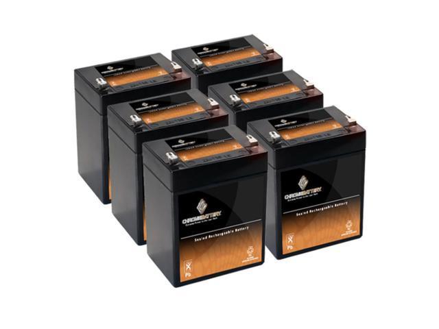 12V 2.9AH SLA Battery replaces LCS2912PL LCS2912PT - 6PK