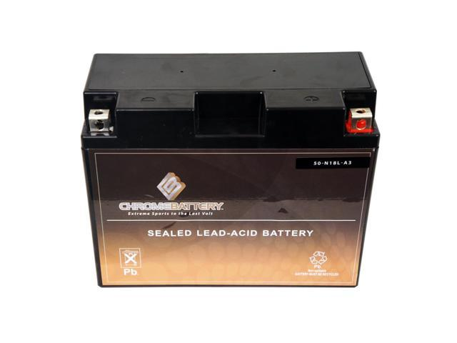 Y50-N18L-A3 Motorcycle Battery for KAWASAKI VN1500 Vulcan 88, SE 1500CC 87-'98