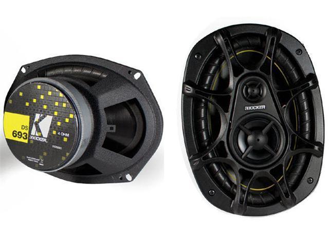 "NEW PAIR 2011 (2) KICKER DS693 6x9"" 280W 3-Way Car Audio Speakers 11DS693"