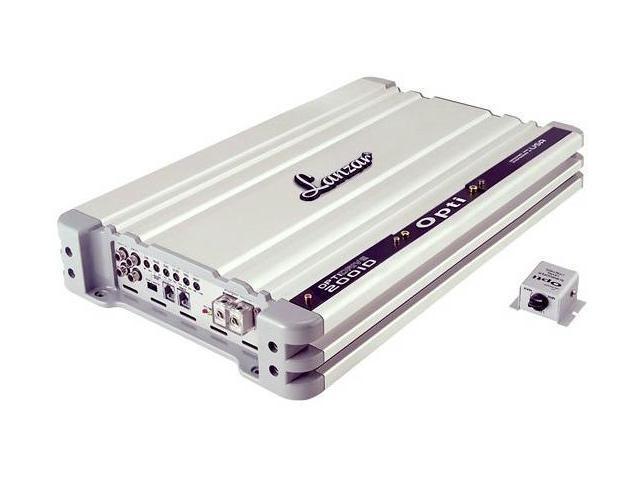 Lanzar - Optidrive Digital Mono Block 2000 Watt Half Ohm Stable Power Amplifier