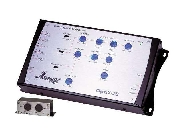 NEW LANZAR OPTIX2B 2 WAY CAR AUDIO ELECTRONIC CROSSOVER NETWORK