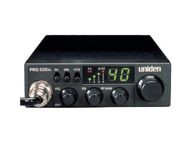 Uniden PRO520XL 40-Channel, 7-Watt Compact CB Radio