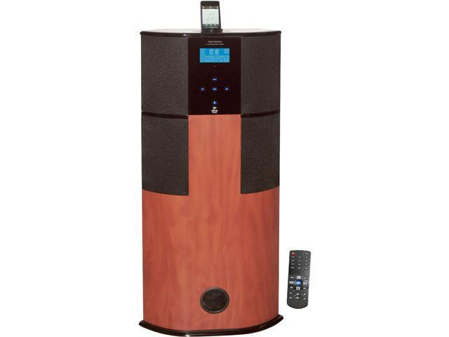 NEW PYLE PHST90ICW DIGITAL 2.1 CHANNEL HOME THEATER TOWER WITH IPOD IPHONE DOCK