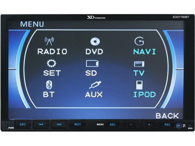 XO Vision In-Dash Car Audio                                            Model XOD1760BT
