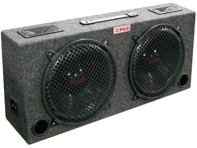 Xxx 2 Dual 12 Car Audio Subwoofer Sub Box W 5 Tweeters