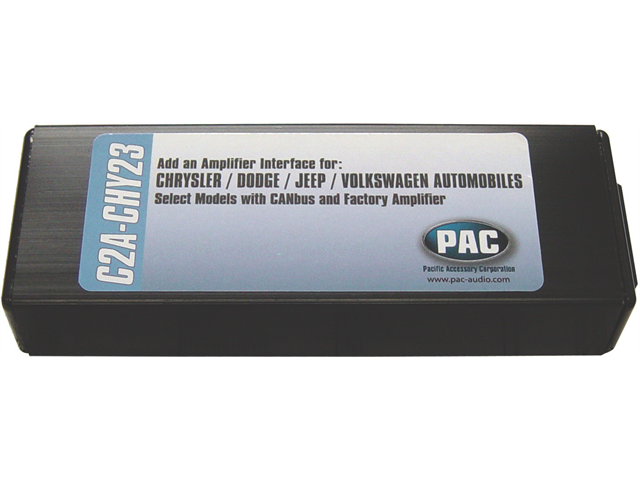 Pac C2a-chy23 Amplifier Interface For [chrysler Dodge & Jeep]