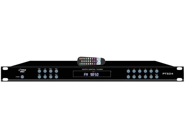 Pyle Pro PT504 AM/ FM Receiver w/ Alarm Clock
