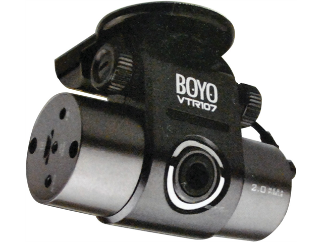 NEW BOYO VTR107 DASH CAM BLACK BOX BUILT IN GPS