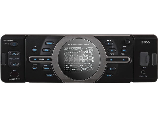 Boss 810Dbi Digital Media Receiver W/ Sd/Usb Iphone Docking And Remote