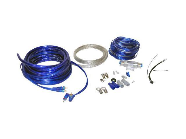 New Lanzar Ampkit4 Car Audio 4 Gauge Amplifier Amp Wiring Kit