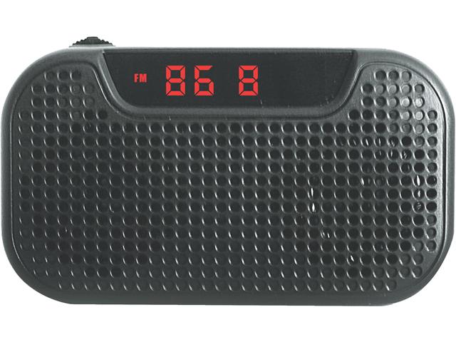 NEW NAXA NAS3032 PORTABLE SPEAKER WITH USB SD MMC INPUTS FM RADIO